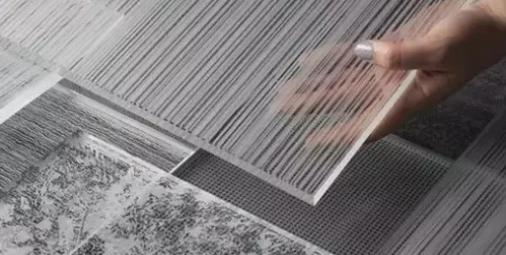 夹丝玻璃材料