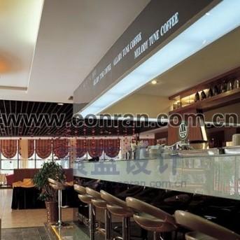 深圳名顿咖啡餐厅装修工程