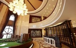广西天隆地产三千海项目售楼处装饰工程