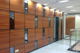 TCL通讯科技大厦写字楼装修工程已进入收尾阶段