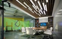 深圳合动力包装公司办公室设计