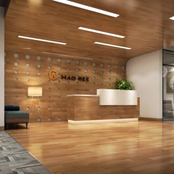 深圳进出口贸易公司办公室装修设计