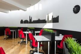 办公室空间布局_深圳办公室装修设计要尽量的合理布局空间_康蓝装饰公司