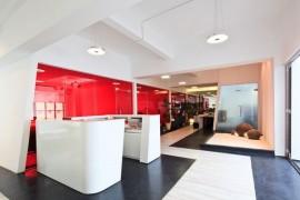 提升企业办公空间的品味,从办公室装修设计配色开始_康蓝装饰公司