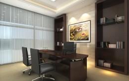 经理办公室装修设计_深圳办公室设计公司讲解经理室设计装修要素_康蓝装饰公司