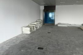 马石油办公室装修设计工程施工现场_康蓝装饰公司