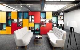 办公室装修设计中的视觉艺术应用_康蓝装饰公司