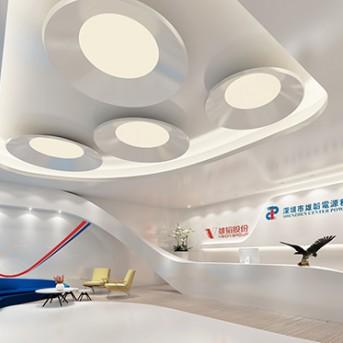 深圳市雄涛电源科技有限公司办公室装修设计工程_康蓝建设集团