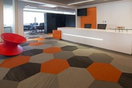 写字楼办公室地毯的分类及其介绍_康蓝装饰