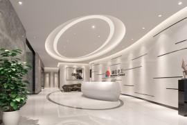 国际潮流风格办公室设计费用怎么报价的_康蓝装饰