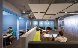Twitter旧金山办公室室内外装修设计实景