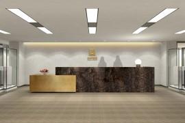 签约赫美集团办公空间升级改造装修工程_康蓝装饰