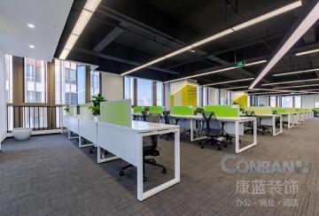 深圳丰巢科技公司办公室装修项目_康蓝装饰
