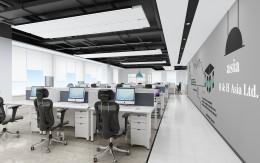 深圳松博信息咨询公司办公室设计项目案例_康蓝集团案例