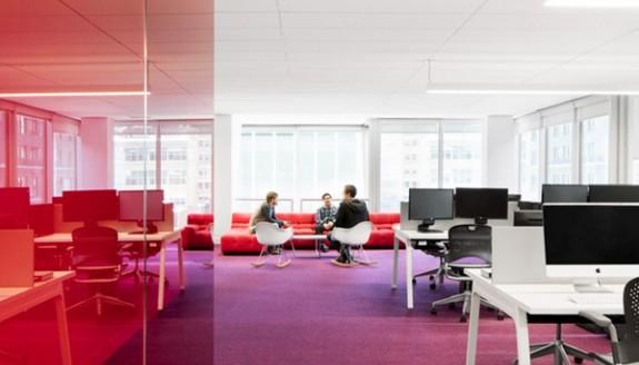 深度解析办公室设计之配色技巧