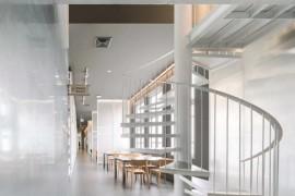 整个建筑创意与设计中心堪称创意孵化器