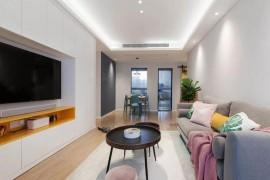76㎡北欧风格装修效果图,三居室的设计利用率极高