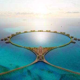 福斯特公开沙特阿拉伯红海项目12号酒店最新效果图