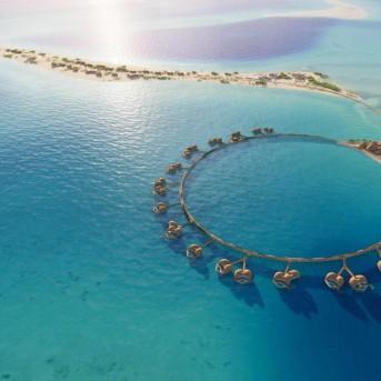 酒店设计案例-沙特阿拉伯红海项目12号酒店设计最新效果图公开