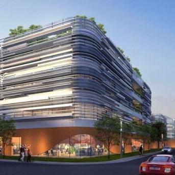 深圳施罗德工控有限公司办公室设计