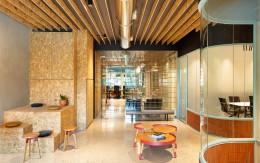 办公室设计色彩分布技巧分享!墙面、地上、天花板这样运用颜色准没错!