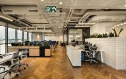工业风深色系办公室如何设计?什么样的颜色搭配给员工视觉的卓越体验加倍?