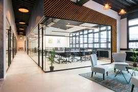 轻奢风格的办公室,如何进行色彩搭配?