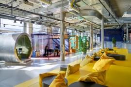 办公室装修设计色彩与空间的搭配有哪些技巧?