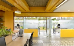 不同的办公室选择设计装修技巧:几种颜色和风格的选择!